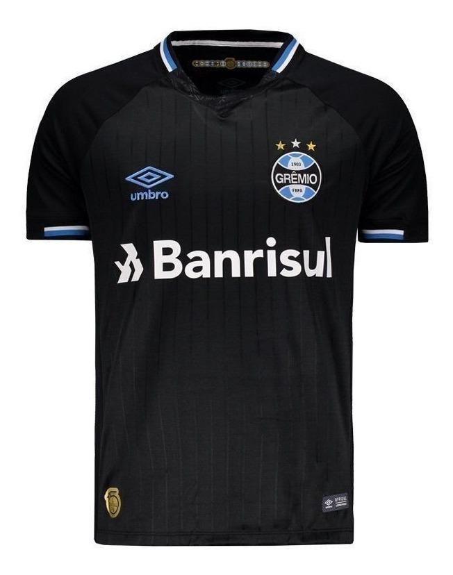 d947cee3dc Camisa Umbro Grêmio Iii 2018 3 Geromel - R$ 124,90 em Mercado Livre