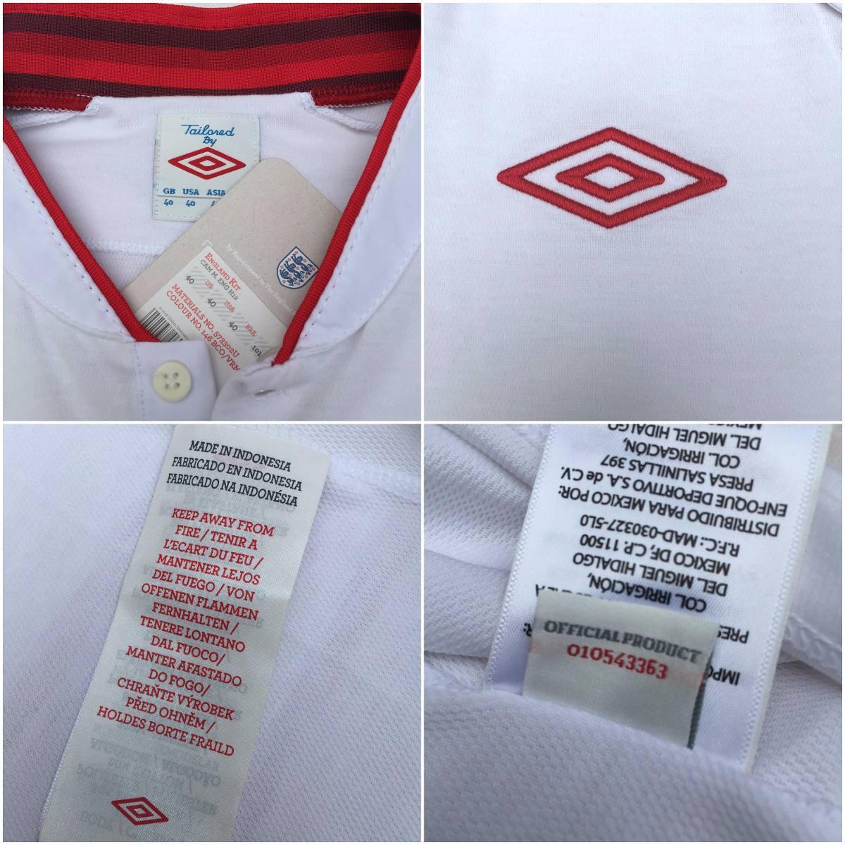 camisa umbro inglaterra home 12 13 m nova original fn1608. Carregando zoom. 8490f3b30d6b1