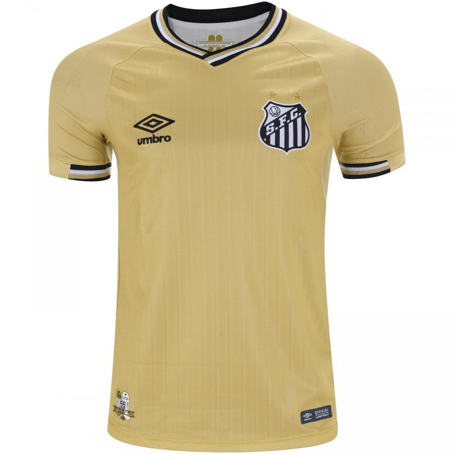 Camisa Umbro Masculina Santos I 2018 2019 Time Do Rei - R  142 2799bcb99e966