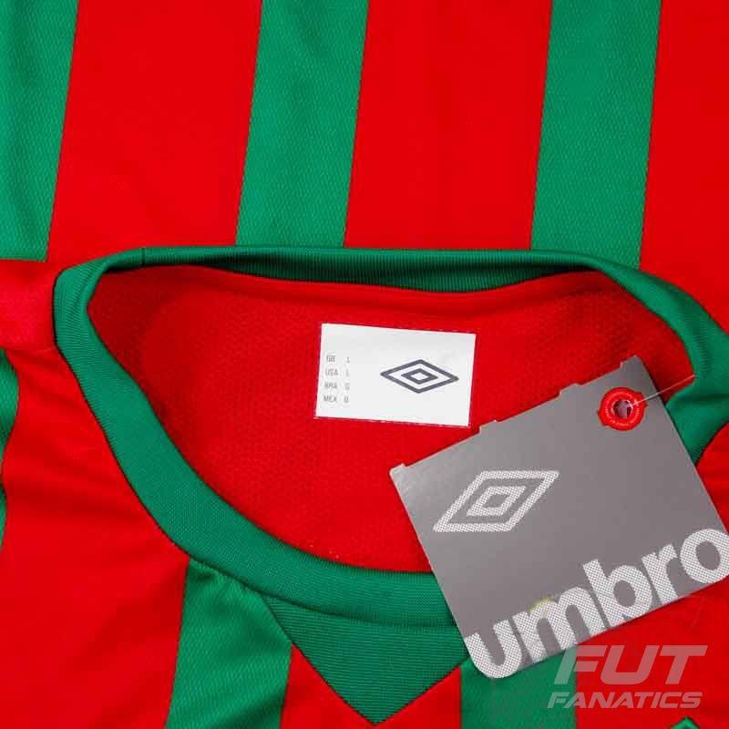 c60a333ec6 camisa umbro portuguesa santista i 2014 juvenil. Carregando zoom.