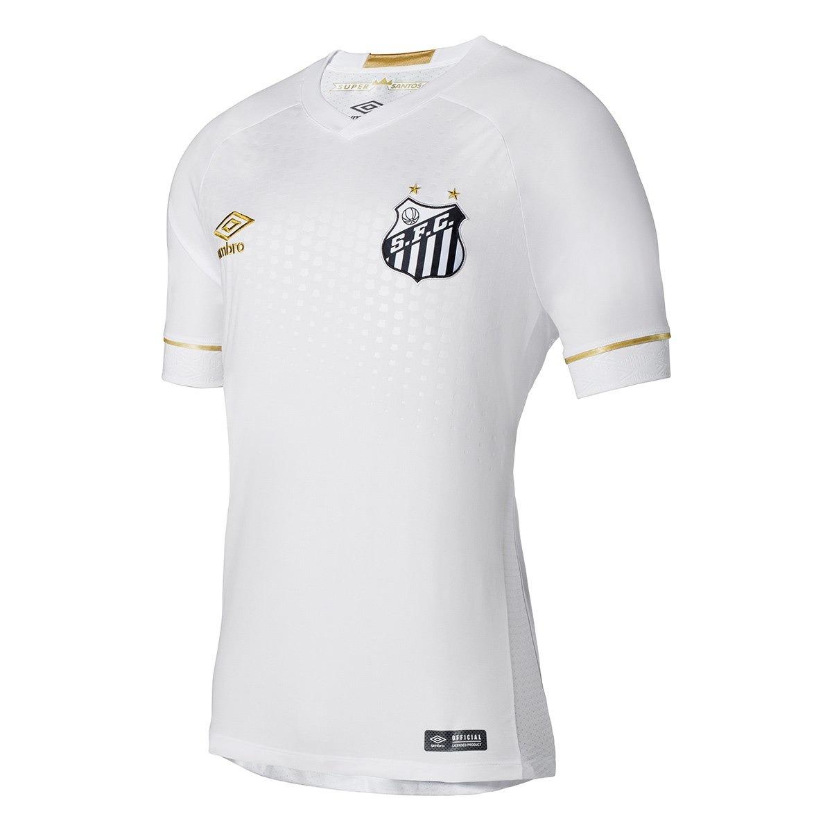 Camisa Umbro Santos 2018 Original (torcedor) + Frete Grátis - R  279 ... cfd2ce4ae8507
