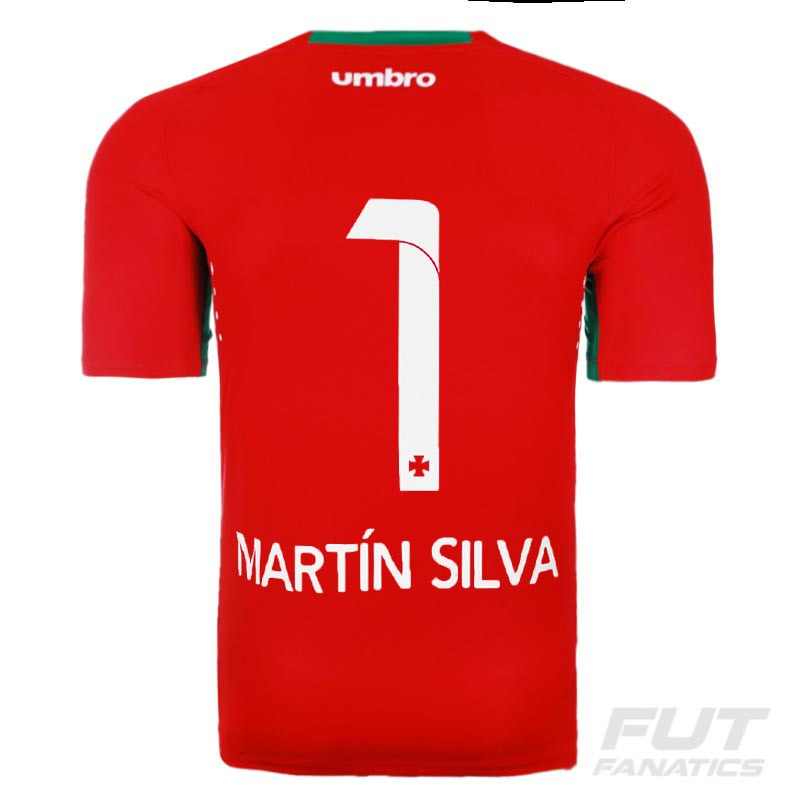 camisa umbro vasco goleiro 2015 vermelha - futfanatics 1 mar. Carregando  zoom. bc7f9065f5c82
