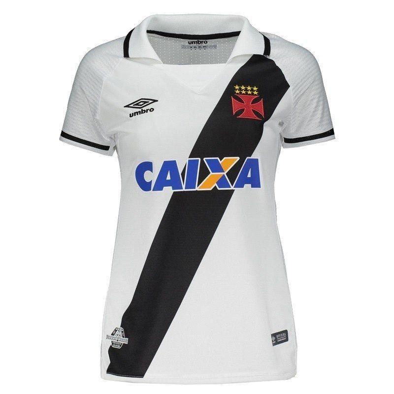 7c3e757b7979d Camisa Umbro Vasco Ii 2017 Feminina - R  94