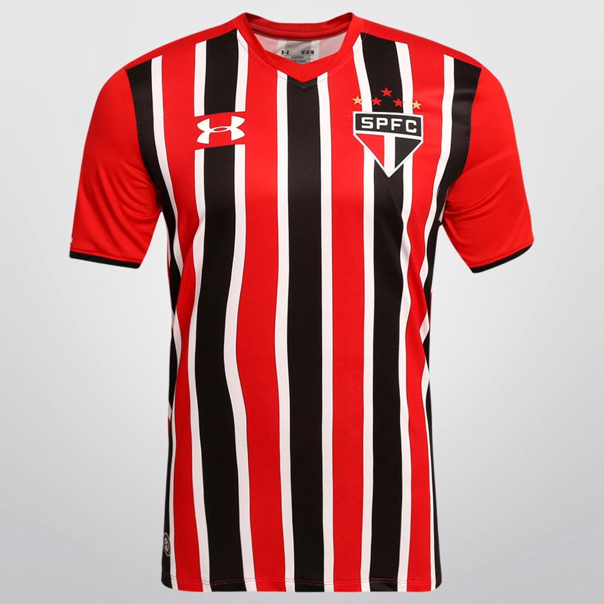 692b10d0c43 Camisa Under Armour São Paulo 2 2016 C nf Orig De 249