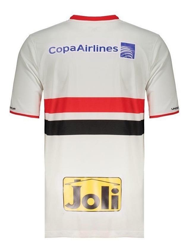 818e723dbfc99 Camisa Under Armour São Paulo I 2015 Com Patrocínio - R$ 124,90 em ...