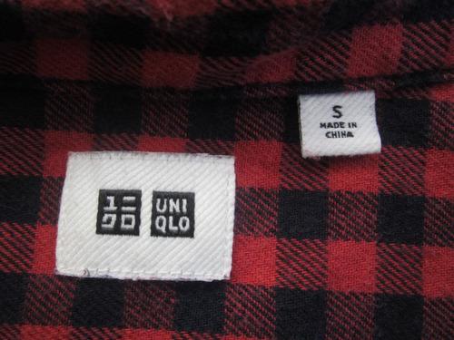 camisa uni- qlo