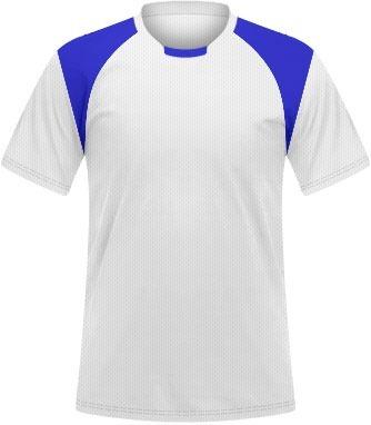 396f349ac0 Camisa Uniforme Futebol (unidade)  mín. 8 Pçs   Branco Azul - R  31 ...