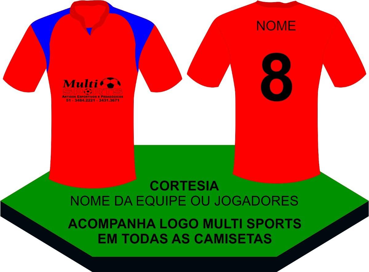 10eb0525f48d5 camisa uniforme futebol (unidade)  mínimo 8 pçs   vermelho. Carregando zoom.