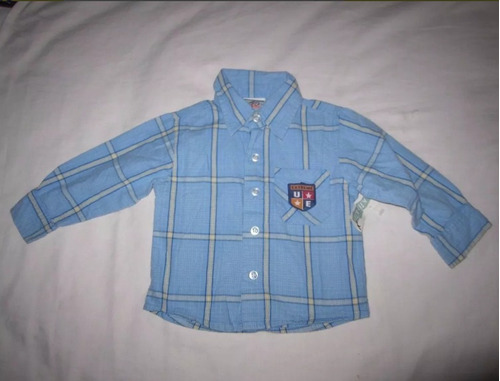 camisa unisex talla 18 meses marca mac henry