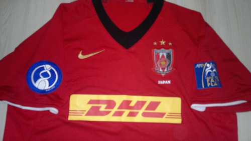 camisa urawa red diamonds japão - patch asia for fair play