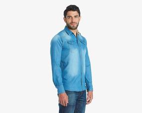 ae2554cf1d Camisa Urbant Star De Mezclilla Pr-1217722