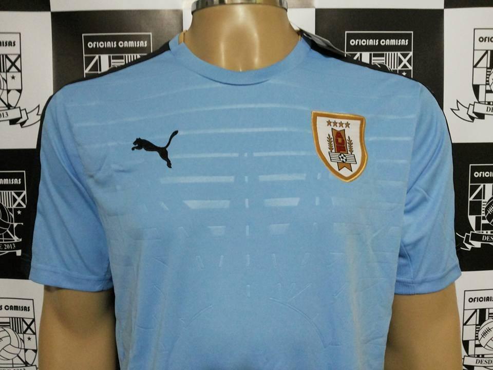 7074a4002acae camisa uruguai home 2016 17 original puma - pronta entrega! Carregando zoom.
