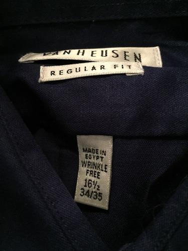 camisa van heusen 16 1/2-34-35 talla grande