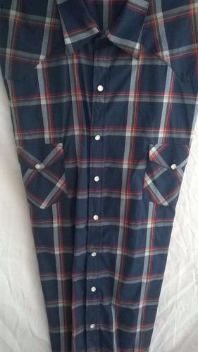 camisa vaquera de cuadros