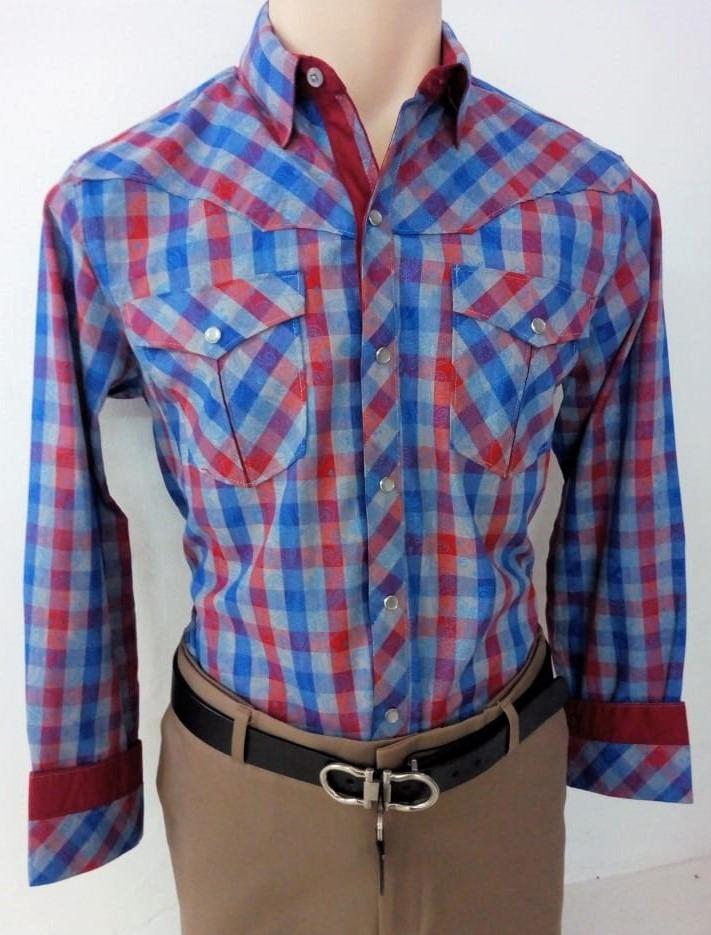 39b7aac4d23b4 Camisa Vaquera De La Marca Cactus Para Hombre -   570.00 en Mercado ...