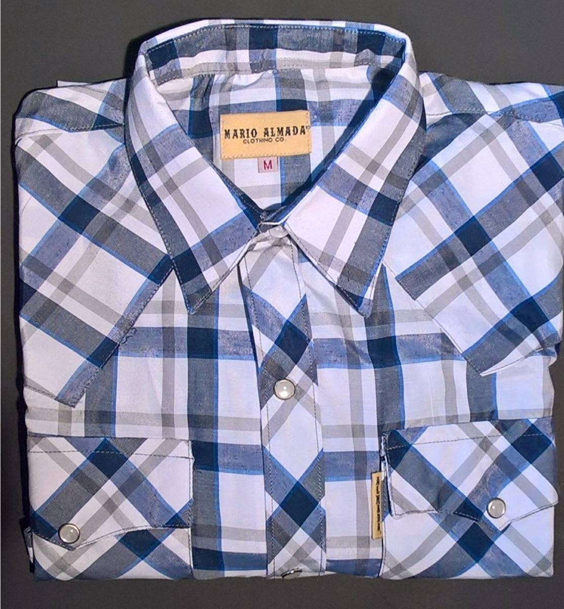 32673d710ebfa Camisa Vaquera Marca Mario Almada Clothing