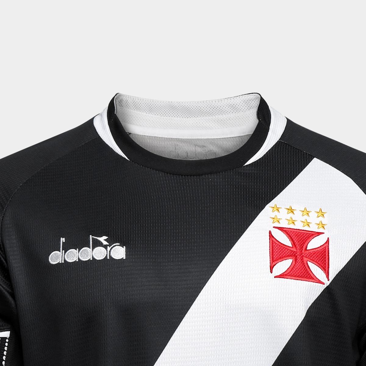 683e8406f8 Camisa Vasco 1 2018 Diadora Masculino - 40103 - R$ 249,90 em Mercado Livre