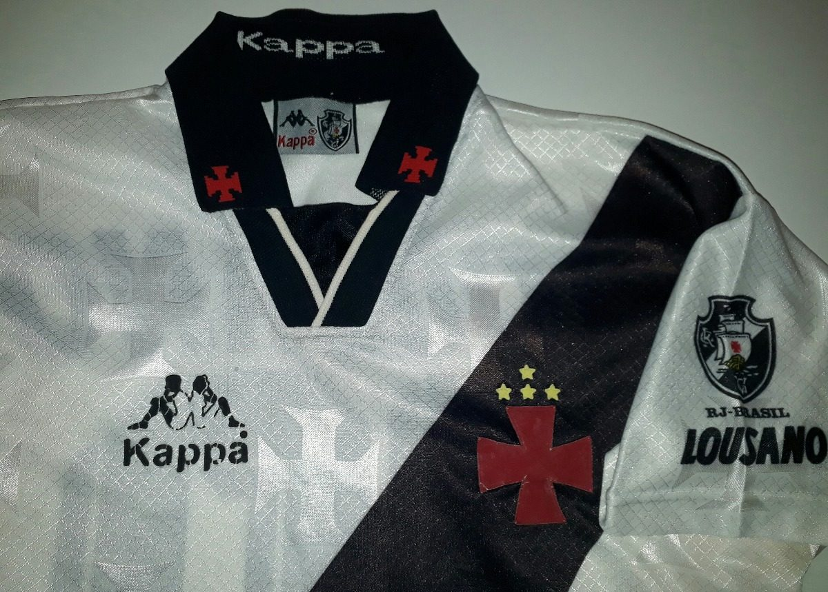 camisa vasco 1996 antiga original kappa lousano - 88. Carregando zoom. fbd7d7429dae8