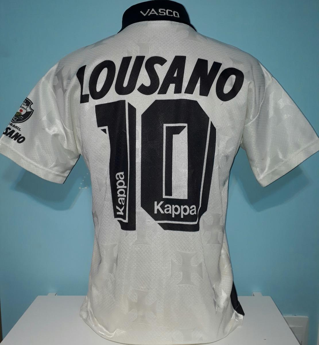 camisa vasco antiga lousano 1996 original kappa - 88. Carregando zoom. f2e9c56324b72