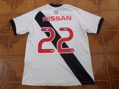 camisa  vasco  branca  usada  jogo  numero  22   tamanho   m