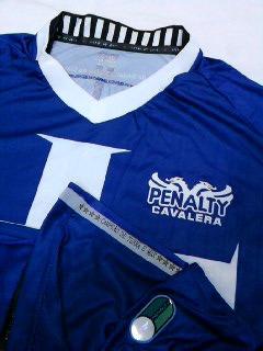 Camisa Vasco Cavalera Templaria Azul 3 Oficial Penalty 2012 - R  169 ... e738f9b37f6ae