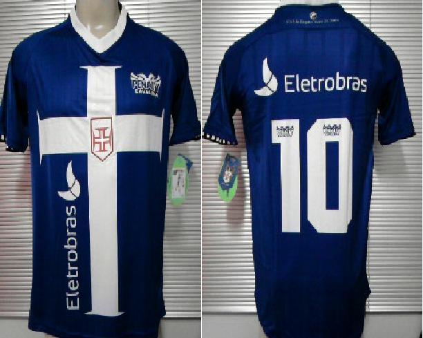 4e5aa34948 Camisa Vasco Cavalera Templaria Oficial 3 Penalty Azul 2012 - R  169 ...