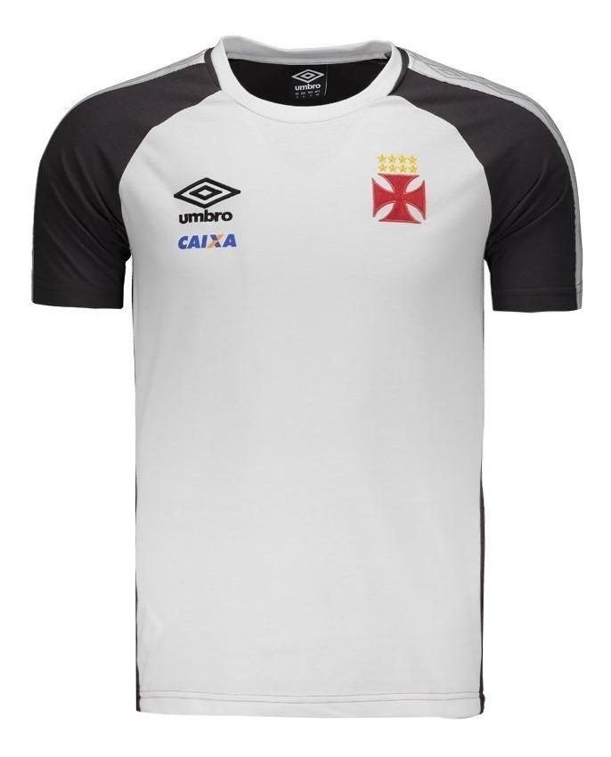 be5ad1511e Camisa Vasco Concentração Branca Oficial Umbro 2017 / 2018 - R$ 118 ...