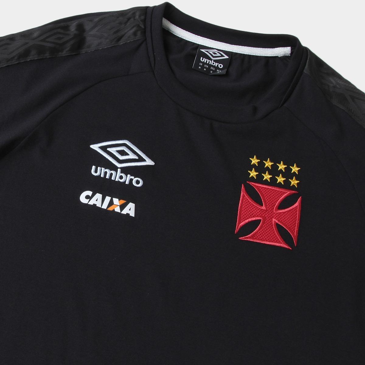7bab8a2a90dba camisa vasco concentração oficial umbro preta 2017 / 2018. Carregando zoom.