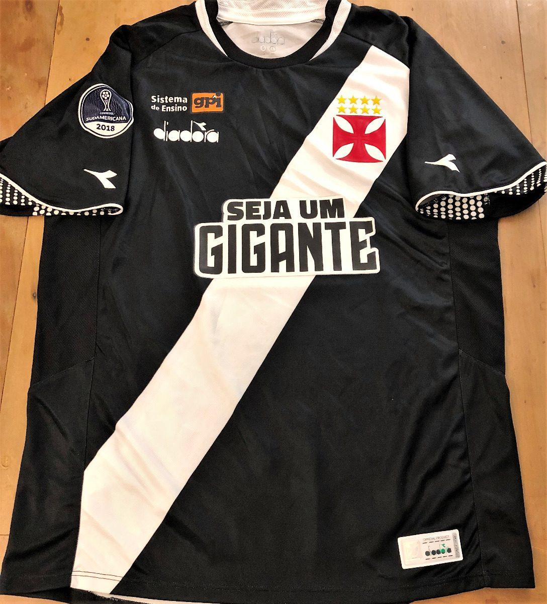 camisa vasco copa sulamericana 2018 de jogo henriquez  3. Carregando zoom. b3e6b1d41e50f