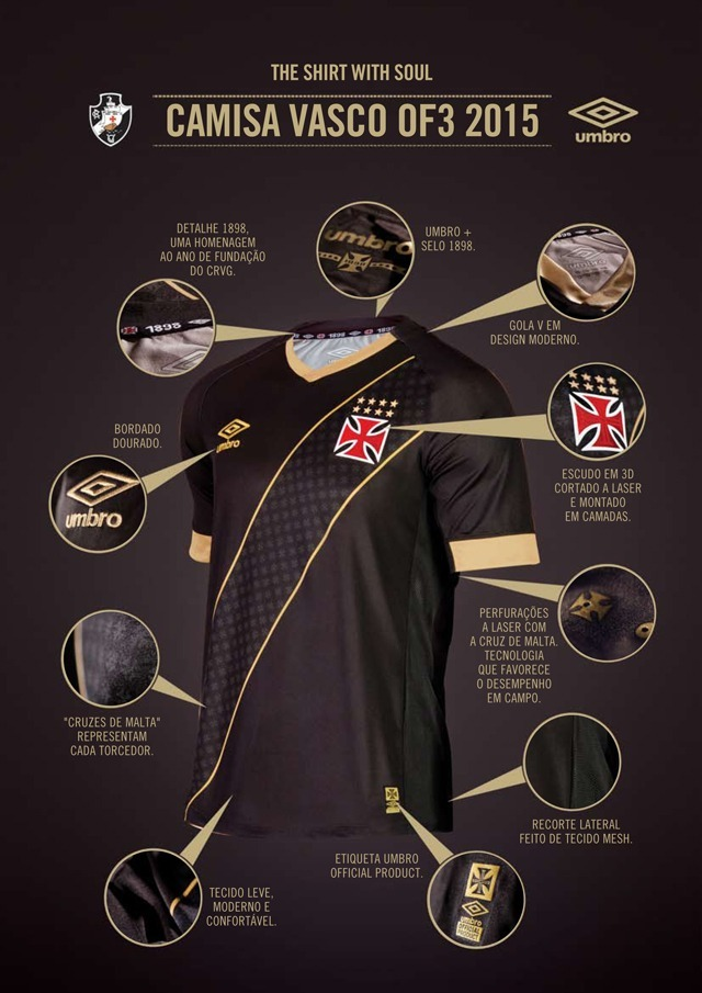 camisa vasco da gama 2015 original umbro. Carregando zoom. f903f1f3dd9cd