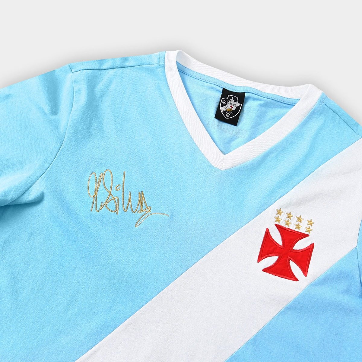 Camisa Vasco Da Gama Azul Goleiro N 1 Martin Silva Edicao - R  120 ... 490b4b21607e4