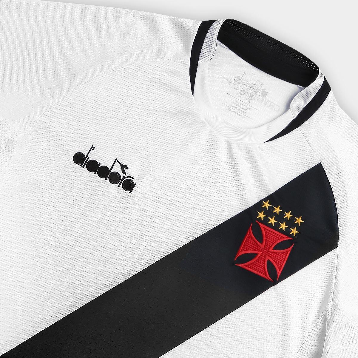 camisa vasco da gama diadora 2018 oficial torcedor masculina. Carregando  zoom. 9b6612b010a9c