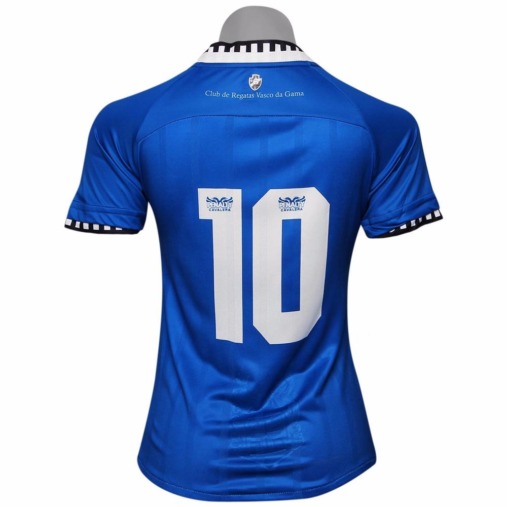 559c806bdb84c Camisa Vasco Feminina Azul Penalty Cavalera Oficial - R  69