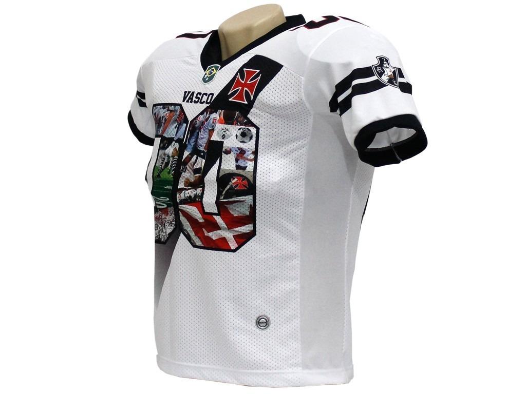 Camisa Oficial Vasco Da Gama Futebol Americano Traktor - R  110 7658b3cf84294