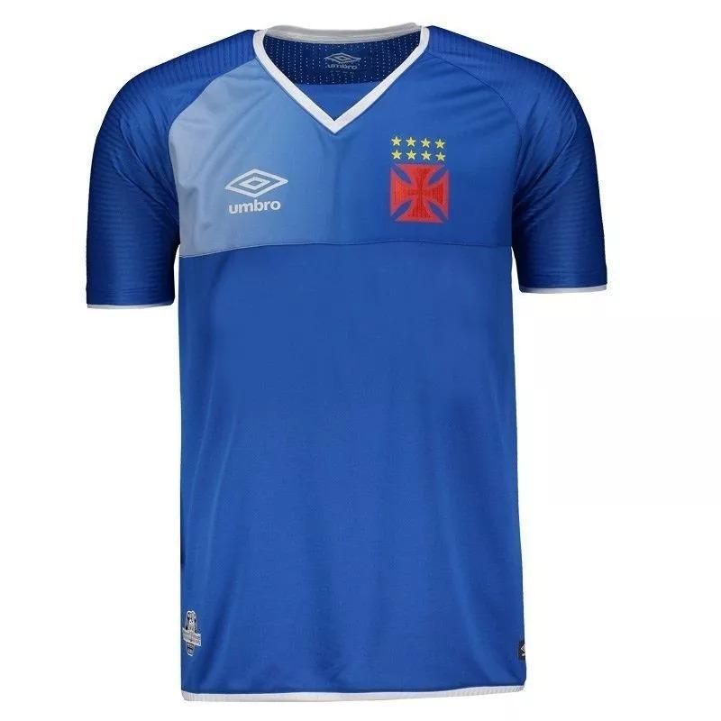 camisa vasco goleiro oficial umbro 2017 2018 azul royal s n. Carregando  zoom. 77bc0b2ec1192