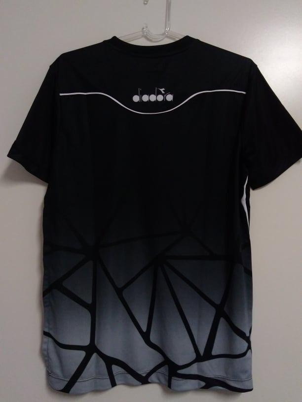b6a438282ecd4 camisa vasco oficial concentração diadora 2018 2019 preta. Carregando zoom.