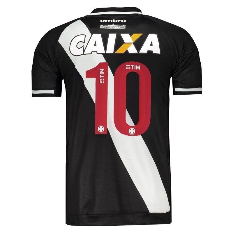Camisa Vasco Oficial Umbro 2017 2018 Nº 10 C  Nota Fiscal ! - R  169 ... 805c570e87985