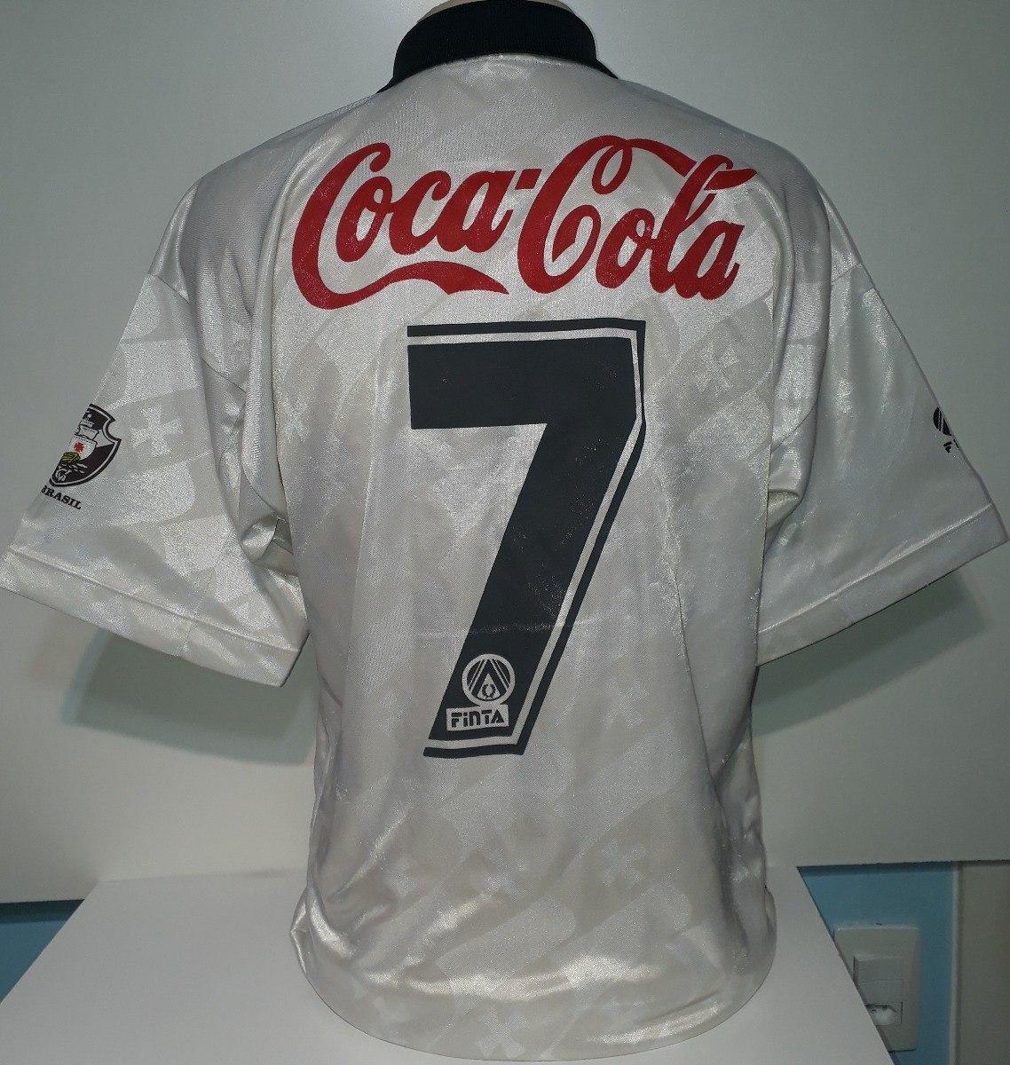 camisa vasco original antiga finta 1993 coca cola - 93. Carregando zoom. 22e501e8e531b