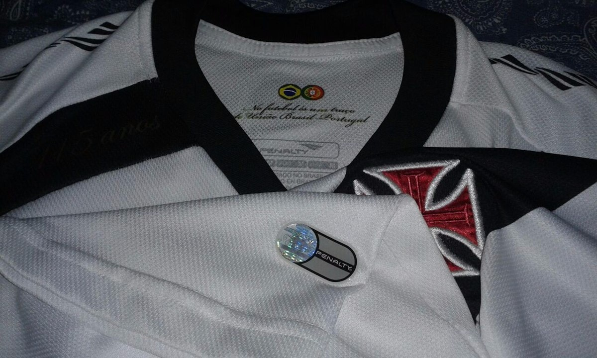 f231bc8368499 Camisa Vasco Penalty 115 Anos Sem Patrocinio 2013   10 - R  249