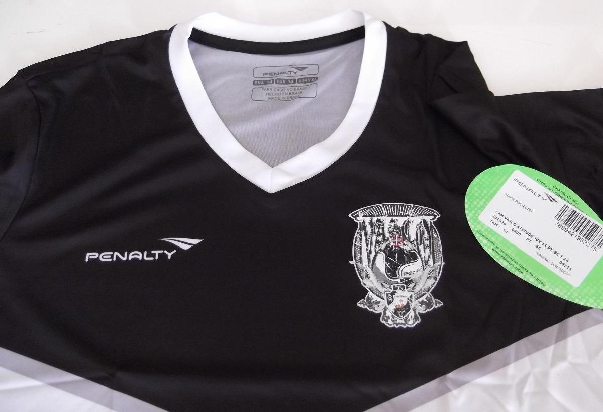 cdf2e1442a8c7 camisa vasco penalty juninho 8 juvenil 2011 nova. Carregando zoom.