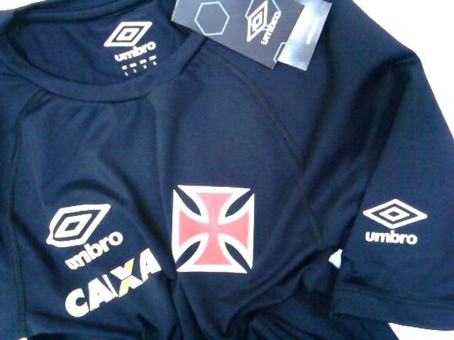 a33c480f2a Camisa Vasco Termica Oficial Umbro 2014 2015 C  Nota Fiscal - R  99 ...
