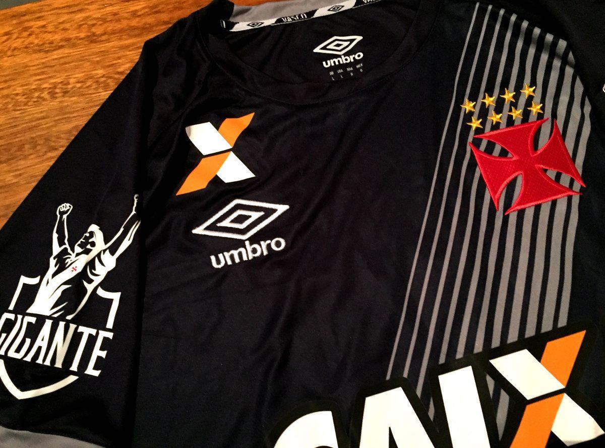 camisa vasco usada jogo brasileirão 2016 goleiro cinza. Carregando zoom. 78a64166c72b9