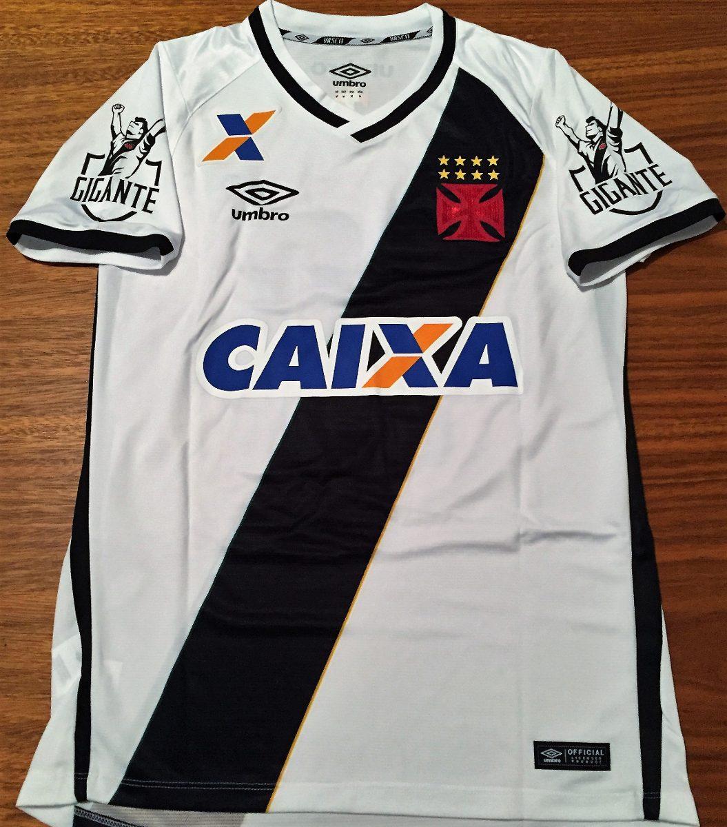 camisa vasco usada jogo nenê brasileiro 2016. Carregando zoom. f70a64bb34411