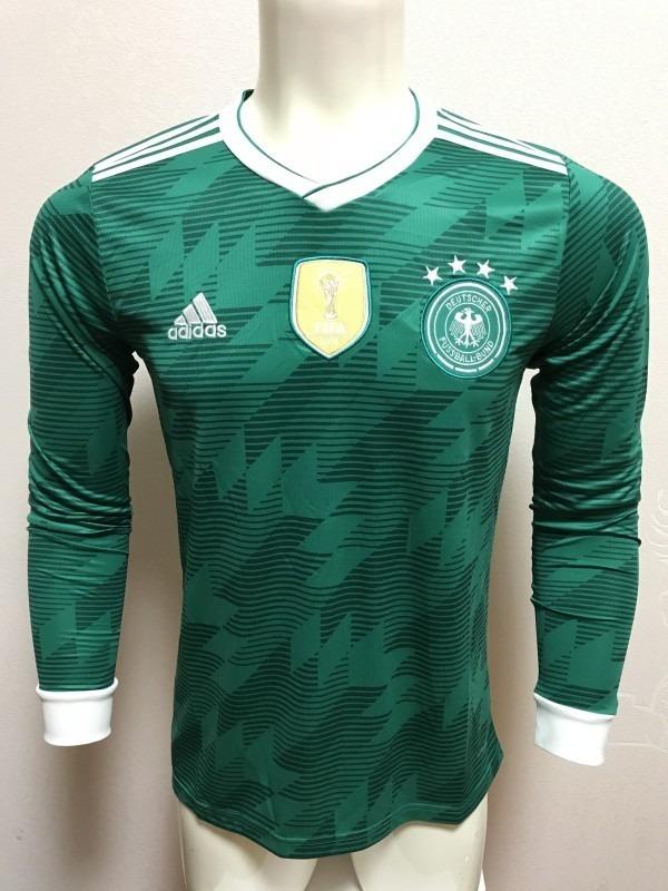 camisa verde da alemanha - manga longa - pronta entrega. Carregando zoom. 7d25dd7c24467