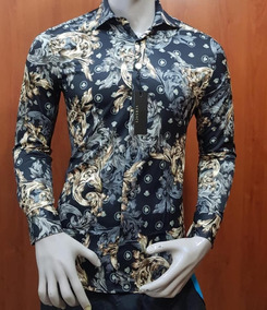 Hermosa Vestir Camisa Gratis Envio De Versace QCstdhr