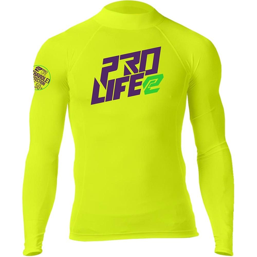 8e41a9f8e6434 camisa vest lycra manga longa proteção solar uv prolife 703l. Carregando  zoom.