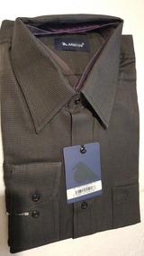 Camisa Bunbury - Camisas Formal de Hombre Larga M en