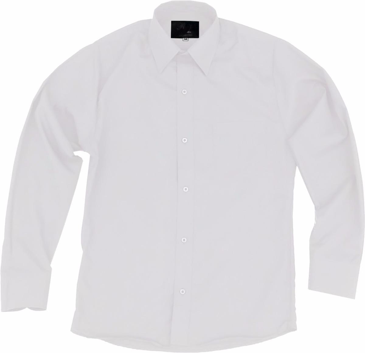 Camisa Vestir De Adulto Blanca Tallas Extras 52 54 Y 56