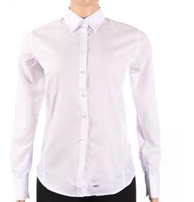58912f6e14ca Camisa Vestir Ejecutiva Dama Blanca Manga Larga