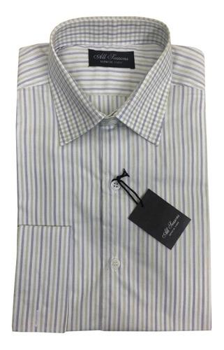 camisa vestir fantasía puño doble para gemelos all seasons